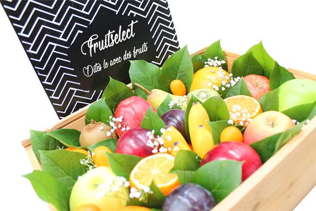 Coffret de fruits fruitselect - Corbeille de fruits a domicile ...