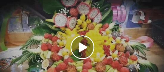 Plateau de fruits frais prédécoupés avec Fruit Select