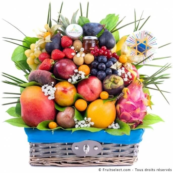 corbeille de fruits cadeau Etoile