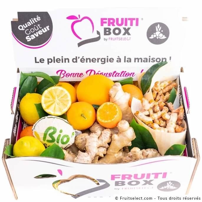 livraison Detox Box
