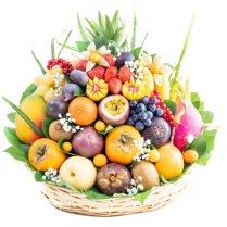 Corbeille Fruits Exotiques Fruitselect