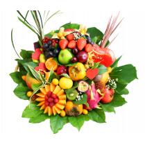 Amour et Gourmandise cadeau fruits