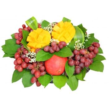 Raisin Mangue livraison corbeille de fruits