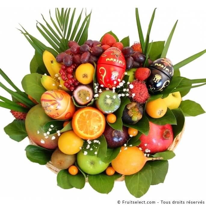 Cadeau Paques Original Fruits select