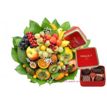 panier fruits noel cadeau