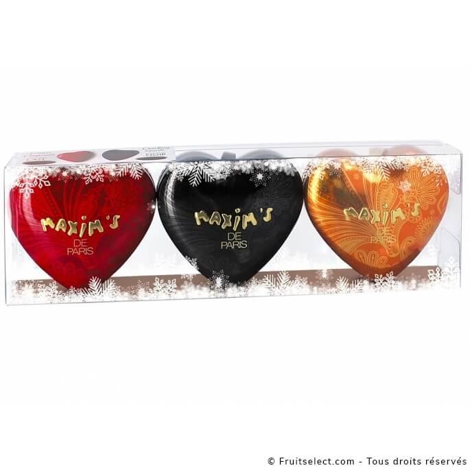 Trio Coeurs Choco