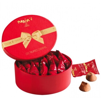 Coffret Truffes Caramel